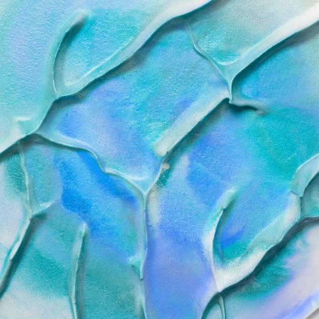 Führen sie ansicht des türkises und des blauen aquarellfarbenbeschaffenheitshintergrundes einzeln auf Kostenlose Fotos