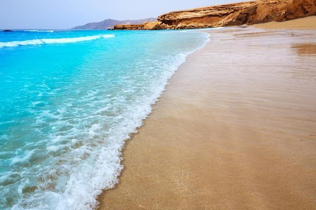 Fuerteventura la pared strand in kanarischen inseln Premium Fotos