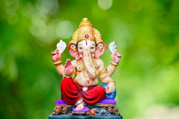 Ganesha festival, lord ganesha statue Premium Fotos