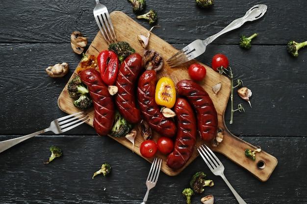 Gegrilltes essen Kostenlose Fotos