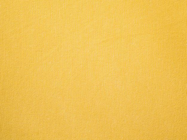 Gelbes gewebetuch der nahaufnahme Premium Fotos