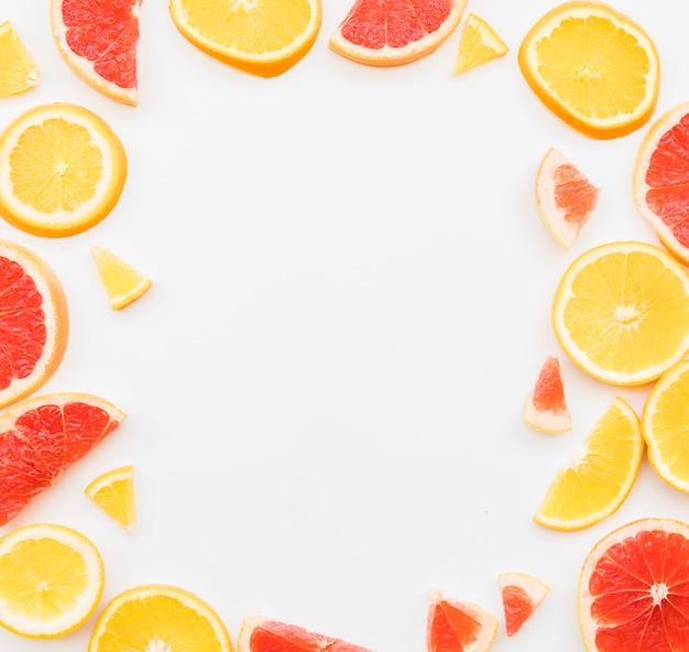 Gemischte bunte zitrusfruchtstücke Kostenlose Fotos