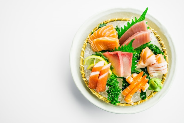 Gemischtes sashimi-set Kostenlose Fotos