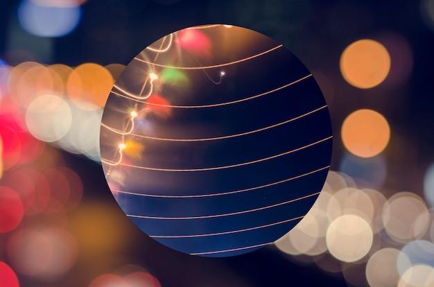 Geometrische figur nacht festliches licht Kostenlose Fotos