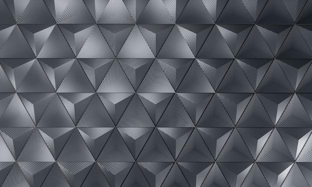 Geometrischer kohlenstoffhintergrund Premium Fotos