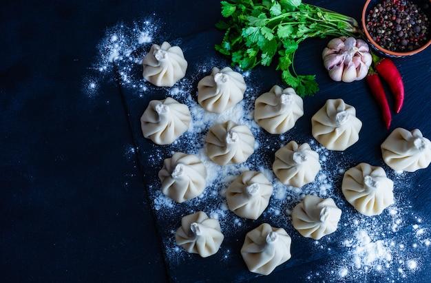 Georgia-küchekonzept Premium Fotos