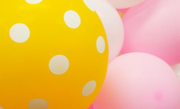 Gepunktete ballons Premium Fotos