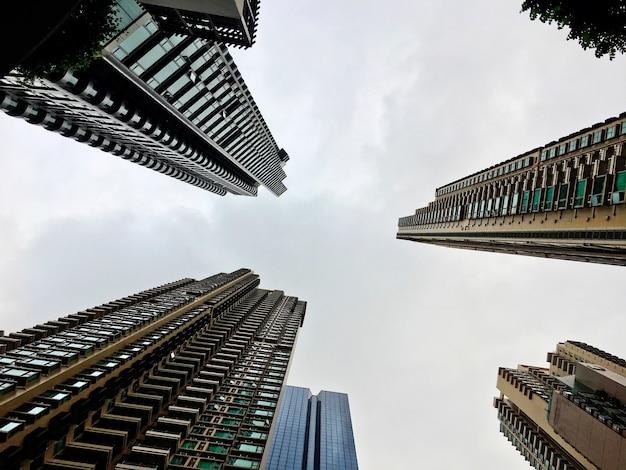 Geschäft skyscapers-gebäude-boden herauf schuss Kostenlose Fotos