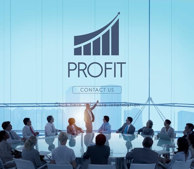 Geschäftserfolg-bericht-diagramm-konzept Kostenlose Fotos