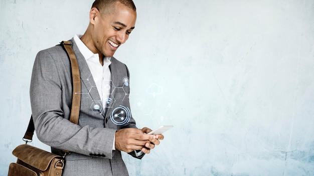 Geschäftsmann sms Kostenlose Fotos