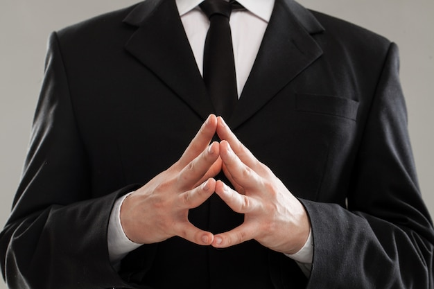 Geschäftsmann torso in anzug Kostenlose Fotos
