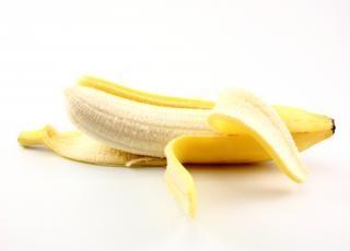 Banane öffnen