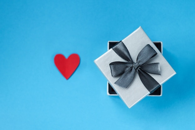 Geschenk zum valentinstag Premium Fotos