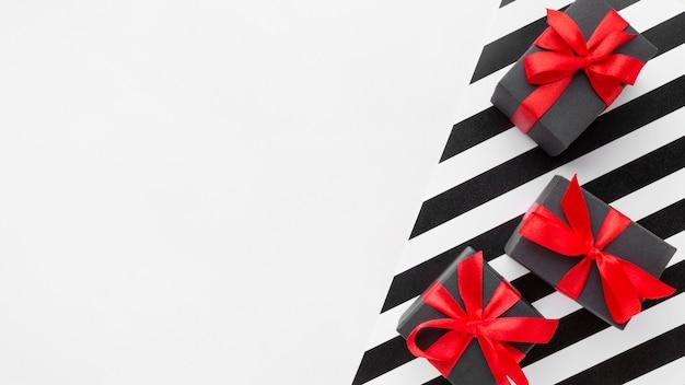 Geschenkboxen cyber montag konzept kopieren platz Kostenlose Fotos