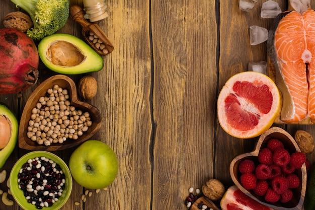 Gesunde ernährung oder paleo-diät Premium Fotos