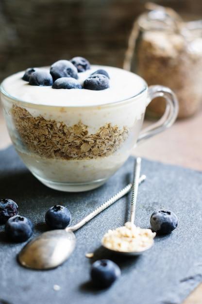 Gesundes frühstück Premium Fotos