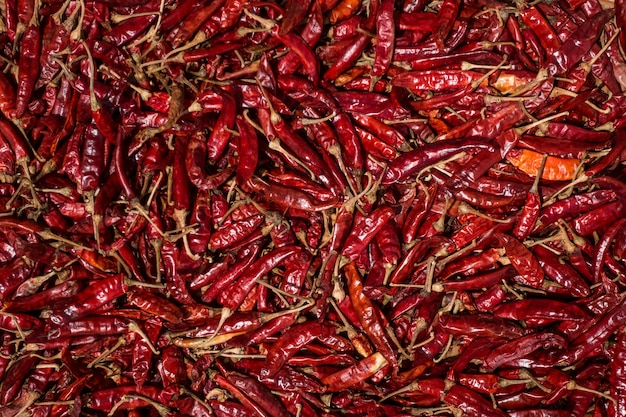 Getrocknete rote chilischoten Kostenlose Fotos
