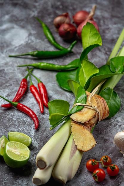 Gewürze der thailändischen roten curry-paste Kostenlose Fotos