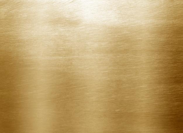 Glänzendes gelbes blattgold Premium Fotos