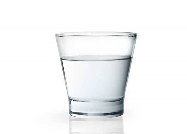 Glas mit wasser Premium Fotos