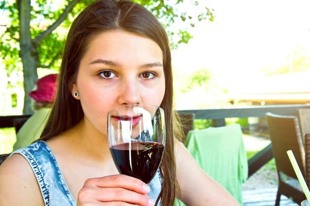 Glas rotwein Kostenlose Fotos