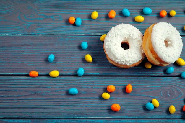 Glasierte donuts Premium Fotos