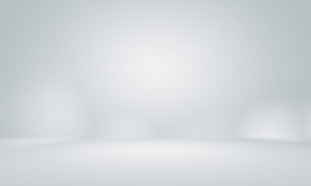Glatter leerer grauer studiobrunnengebrauch als hintergrund. Premium Fotos