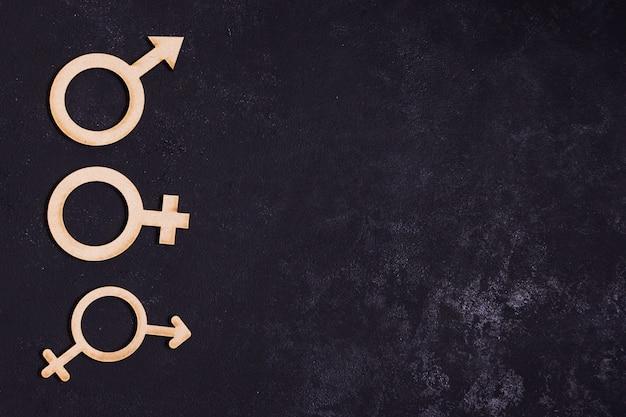 Gleichstellungskonzeptikonen mit kopienraum Kostenlose Fotos