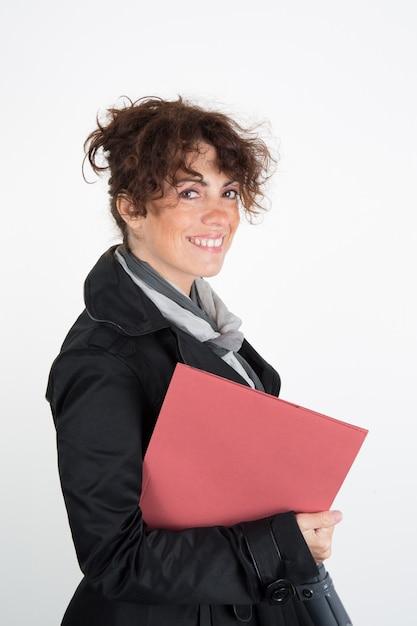 Glückliche und lächelnde geschäftsfrauen Premium Fotos