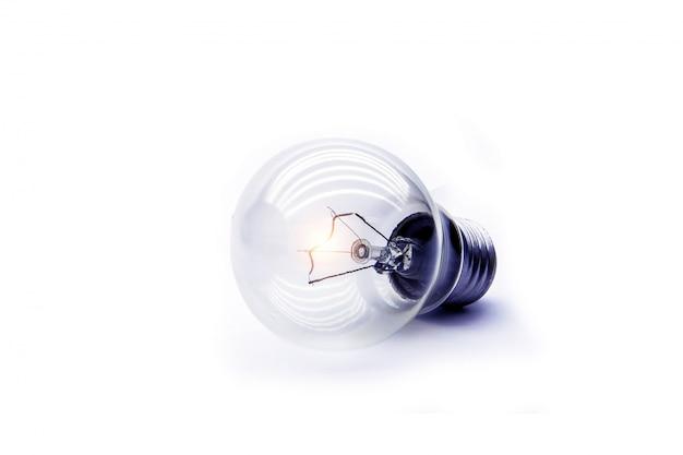 Glühbirne für kreative idee, brainstorming, inbetriebnahme und erfolgreich. Premium Fotos