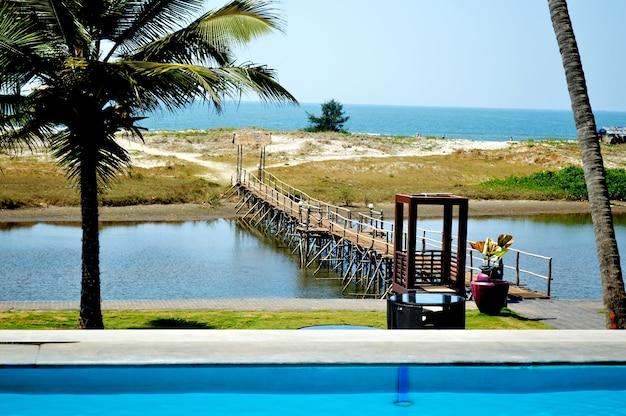 Goa beach resort Premium Fotos