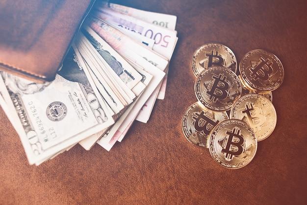 goldene bitcoin m nzen mit brieftasche download der. Black Bedroom Furniture Sets. Home Design Ideas