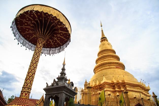 Goldene pagode Premium Fotos