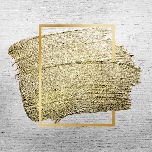 Goldene pinselstrichbeschaffenheit Kostenlose Fotos