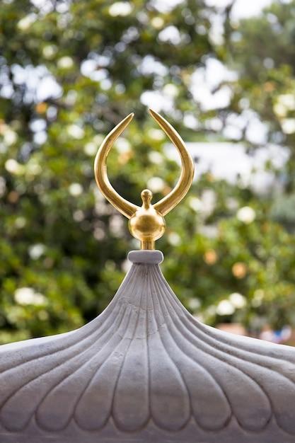 Goldenes dach von topkapi-palast in istanbul, die türkei Premium Fotos