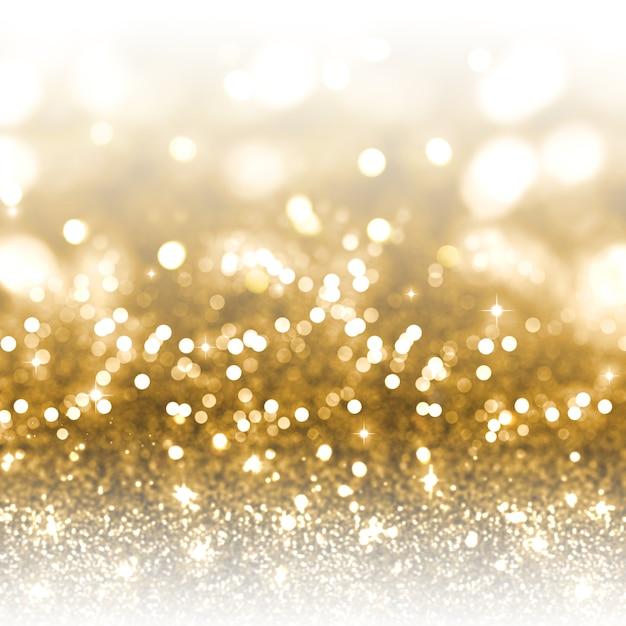 Goldfunkeln weihnachtshintergrund Kostenlose Fotos