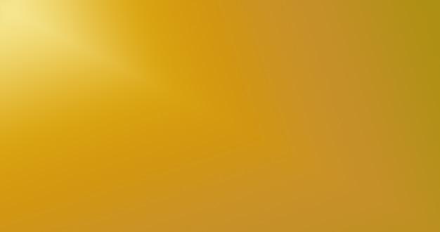 Goldgradienten-farbhintergrund für kreativen abstrakten hintergrund Premium Fotos