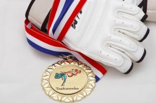 Goldmedaille - taekwondo Kostenlose Fotos