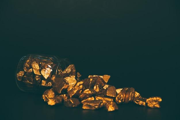 Goldnuggets, golderz Premium Fotos