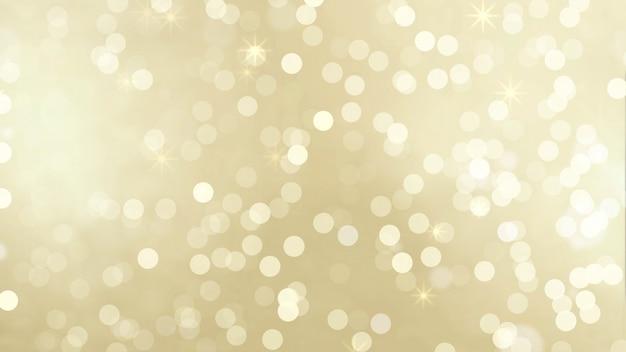 Goldpartikel bokeh Premium Fotos