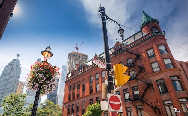 Gooderham gebäude in toronto, kanada Premium Fotos