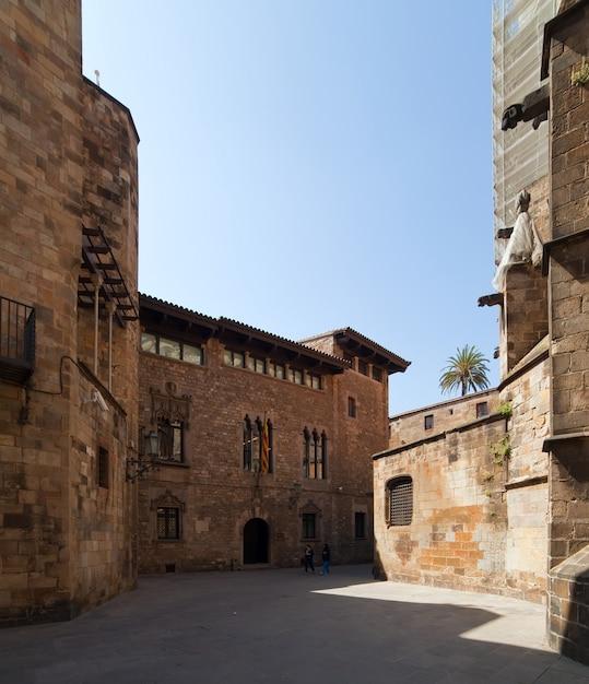 Gotische architektur in barcelona Kostenlose Fotos