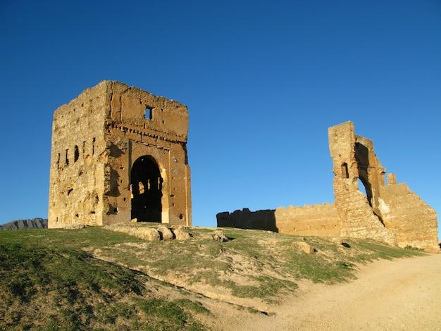 Gräber der mereniden in fes, marokko Premium Fotos