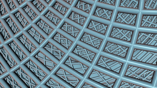 Grauer abstrakter geometrischer hintergrund Premium Fotos