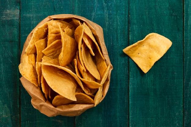 Großaufnahme von tortillachips Kostenlose Fotos