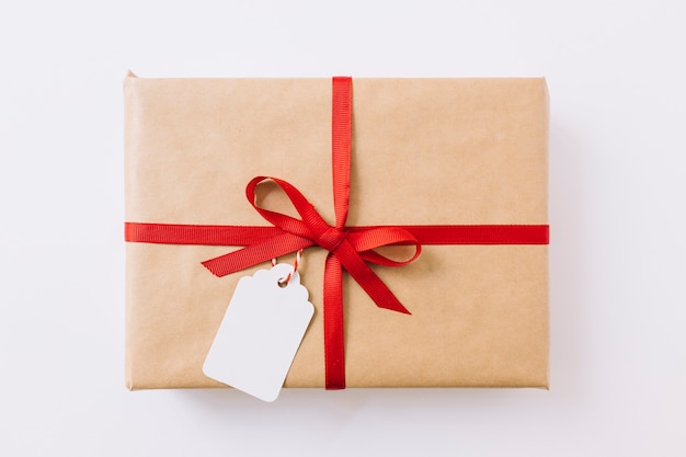 Große geschenkbox mit band Kostenlose Fotos