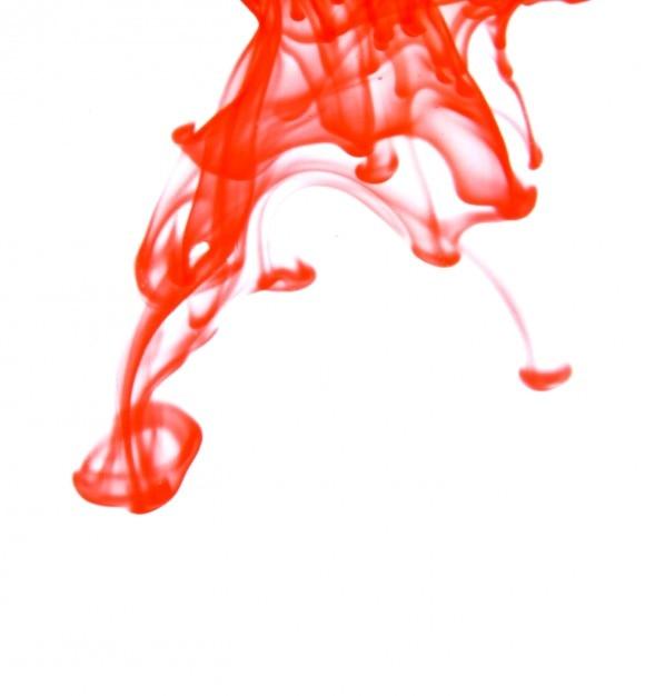 gro e rote tintentropfen in wasser download der. Black Bedroom Furniture Sets. Home Design Ideas