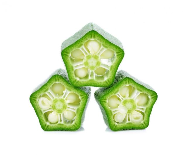 Grüne roselle Premium Fotos