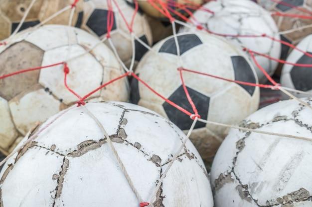 Gruppe von alten fußball. Kostenlose Fotos