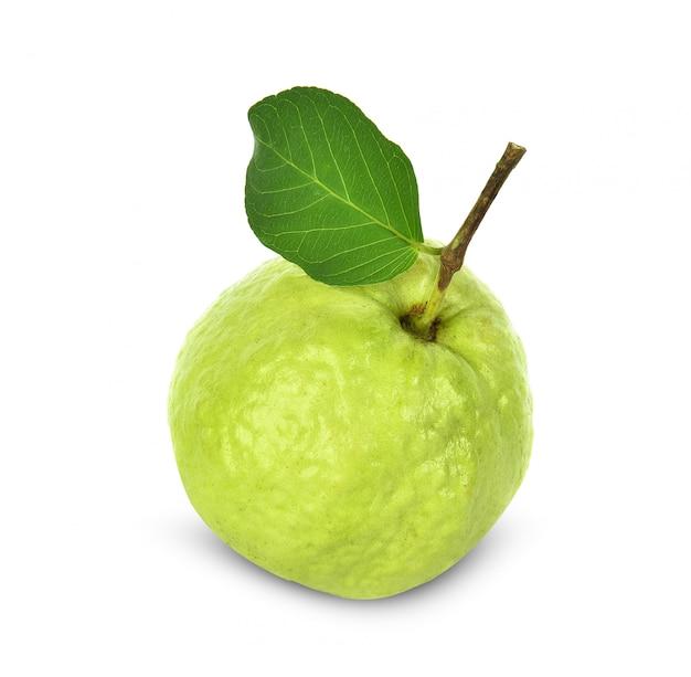 Guave isoliert Premium Fotos